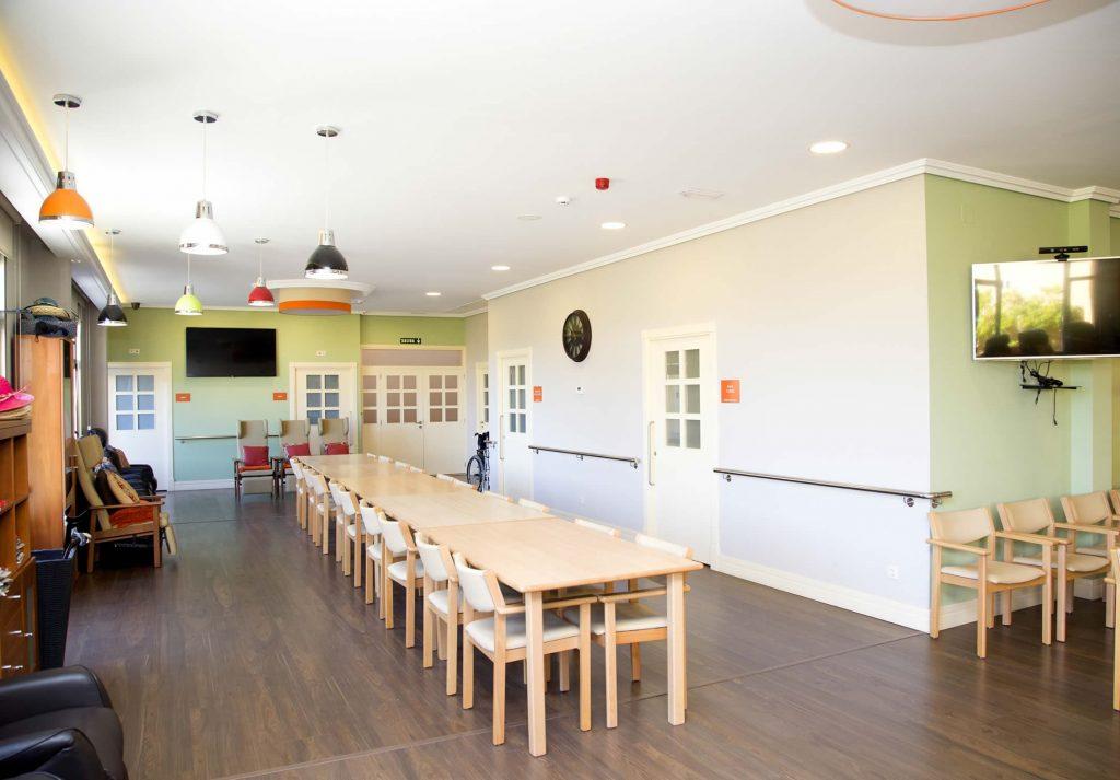 Salón comedor y de actividades
