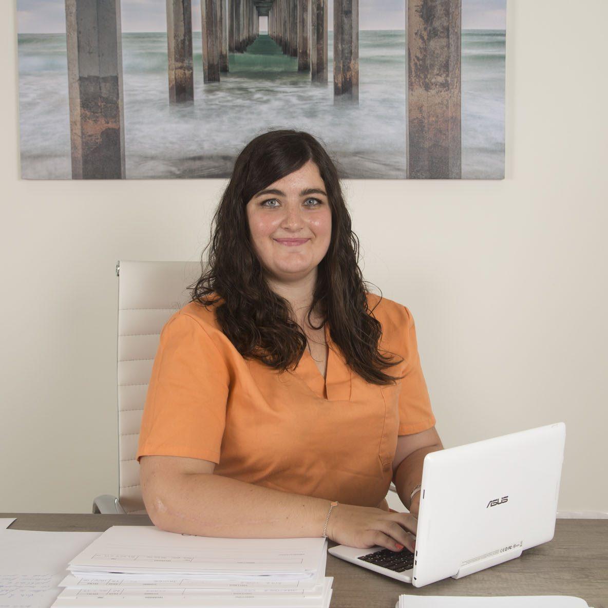 Míriam, coordinadora del Centro de Día Hera en A Coruña