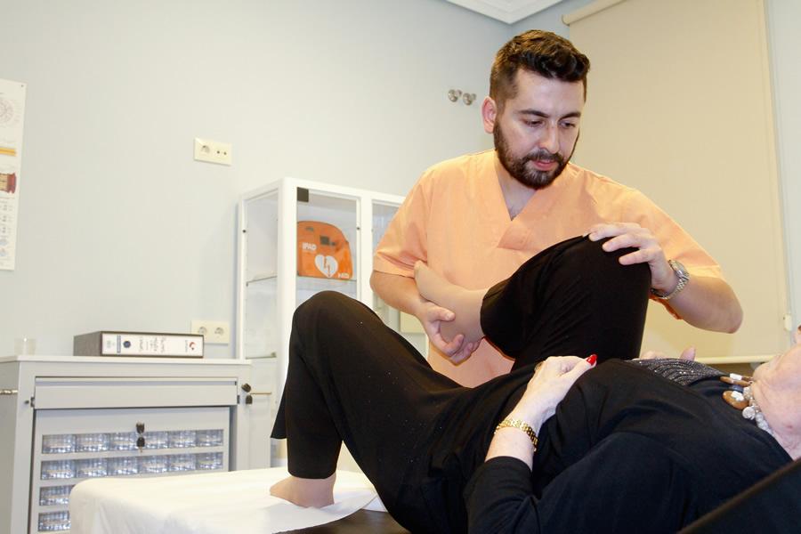 Fisioterapia y servicios especiales en el centro de día Hera